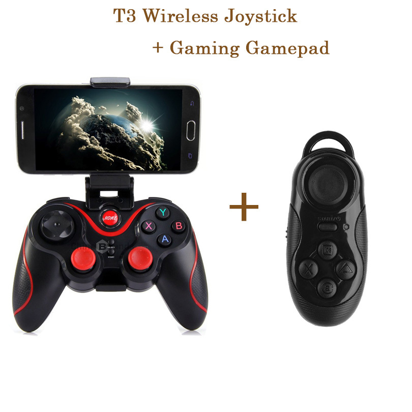 Wireless Bluetooth Game Joystick Gaming Controller Gamepad + Joystick Gaming Gamepad for iPhone for Samsung Android Mobile Phone(China (Mainland))