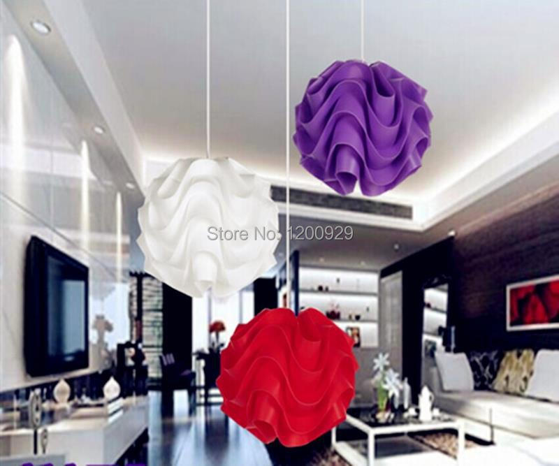 1 Piece DIa18cm Free Shipping 5Colors Creative Modern PP Wave Ball Pendant Light Home Decoration Living Room/Dining Room PLL-247<br><br>Aliexpress