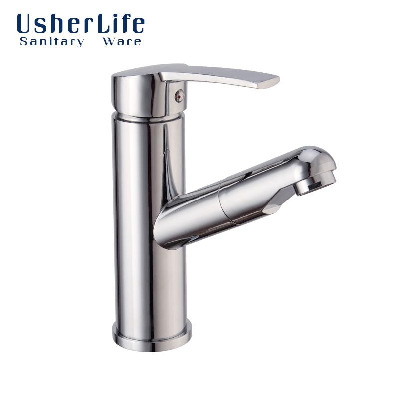 free shipping usherlife torneira brass bathroom faucet