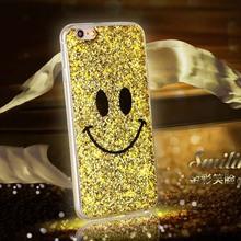 New Fashion Glitter Smile Soft TPU Cover Capa Para Funda for iPhone6 for iPhone6 plus Case Wholesae