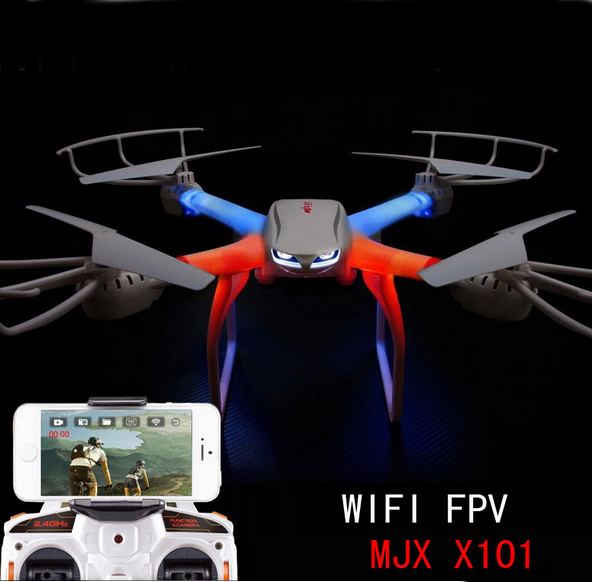 MJX X101 Profession Drones Quadcopter 2.4G 6-Axis RC Helicopter with gimbal Drone with C4005 FPV Wifi Camera drone with camera(China (Mainland))