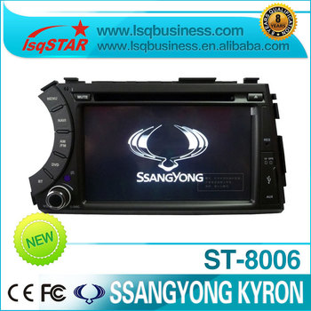 Car DVD for Ssangyong Kyron with GPS USB CDC SD MP3 media player ST-8006