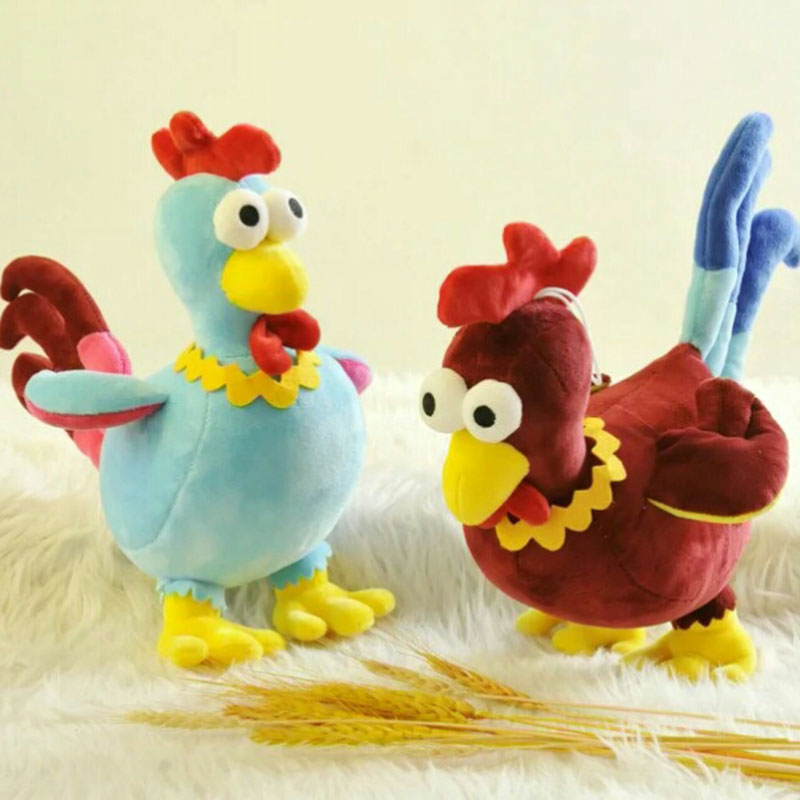 2017 New Year Rooster Plush Toy Stuffed Chicken Phoenix Birds Peacock Soft Toys for Children Kids Baby Girls Gifts 187113659(China (Mainland))