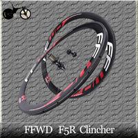 FFWD F5R 700C carbon wheels 50mm clincher carbon road bike wheels with  Novatec 271 HUB FREE SHIPPING