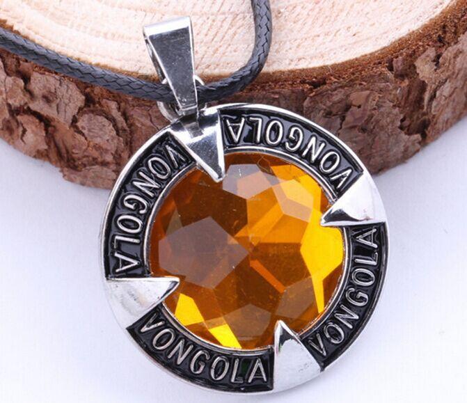 Aliexpress hot animation Tutor Pengo round Acrylic alloy necklaces wholesale fashion vongola metal necklace men jewelry pendants(China (Mainland))