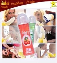 100ml masturbation Jam Fruit oral sex Lubricant oil water-based anal gel sexual Lubricants sex products lubrication Six Tastes