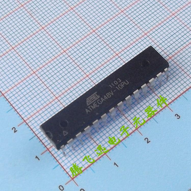 ATMEGA48V-10PU AVR single-chip 8-bit microcontrollers 8K Programmable Flash DIP-28 DIP --TFXDZ(China (Mainland))