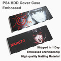 Universal HDD Embossed Design Hard Disc Drive Cover Case Sticker Matting faceplate for Playstation 4 PS4