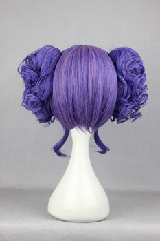 Purple Curly  Lolita Cospaly Wig