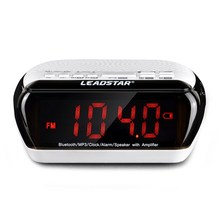 Portable Wireless Mini Multifunctional Smart Desktop bluetooth speaker clock bluetooth FM Radio Time Display TF Card Slot