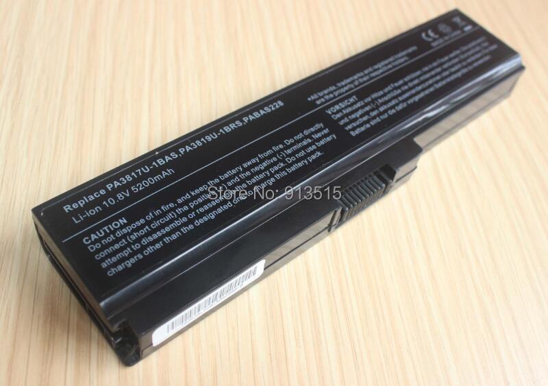 Toshiba pa3817u-1brs notebook batarya 4400 mah