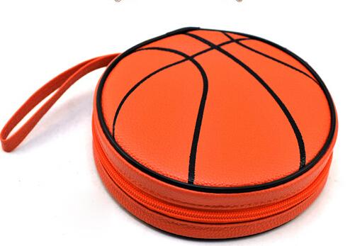 Fashion Basketball CD Bag Wallet DVD Box Holder Children Gift BB092-SZ(China (Mainland))
