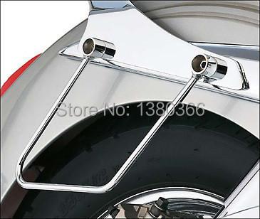 Motorcycle Saddlebag Support for Bar HONDA VT400 Classic 400(STEED400) 400 VLX400/600 88 -98 1set free shipping(China (Mainland))