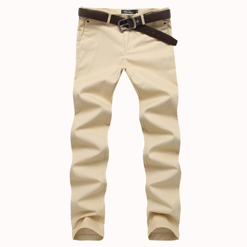 High Quality Slim Fit Khaki Pants for Men-Buy Cheap Slim Fit Khaki ...