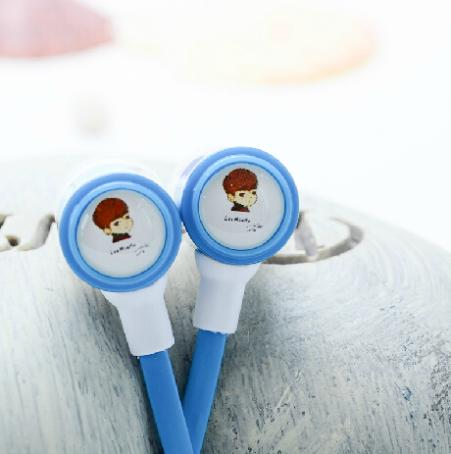 Famous actor Lee MhinHo in-ear music headphone ear...