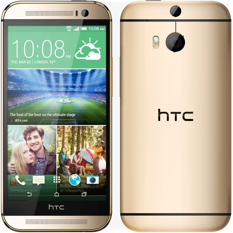 "Original Unlocked HTC ONE M8 Quad Core Smart Phone 2GB + 32GB 5.0"" HD 1080P Android OS 4.4 WIFI GPS HSDPA 3G Cell Phone(China (Mainland))"