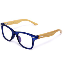 Japan Handmade Natural Bamboo Glasses Frame Clear Lens For Women Men Vintage Myopia Eye Glasses Frames Wooden Spectacle Frame(China (Mainland))