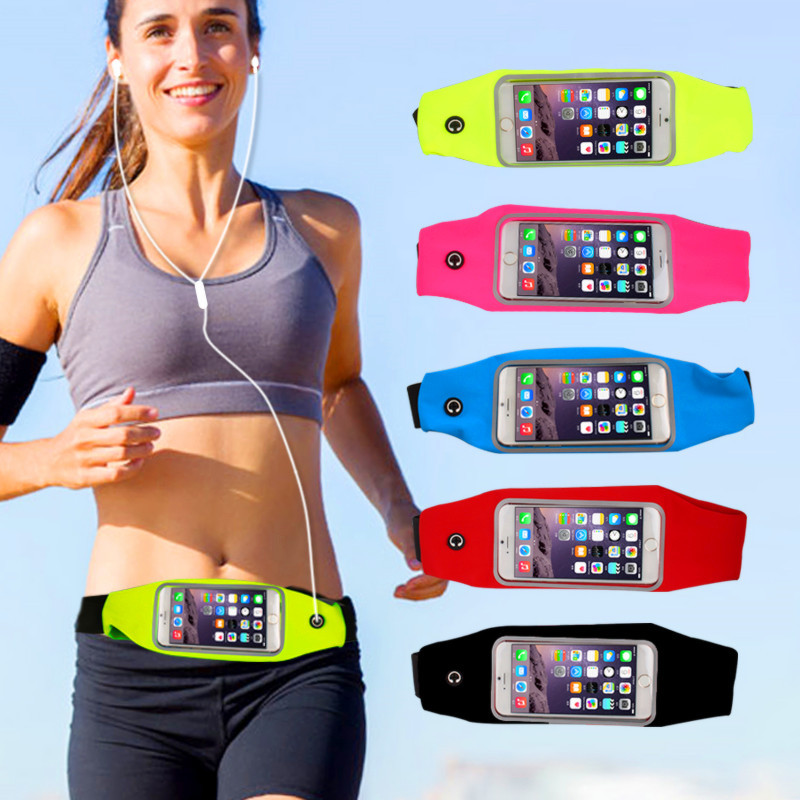 FOR Vernee Thor Phone cases FOR Vernee Thor case cover celular GYM Waist Bag Waterproof sports running mobile phone Pouch(China (Mainland))