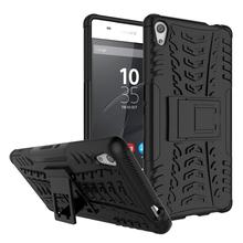 Buy Sony Xperia C6 Case F3212 F3216 Heavy Duty Armor Hybrid Silicone Cover Kickstand Dazzle Case Sony Xperia XA Ultra *< for $3.89 in AliExpress store