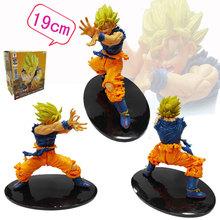 Banpresto Craneking Scultures Anime Dragon Ball Z Action Figures Son Goku Super Saiyan PVC Figurine Collectible Model Toy DBZ