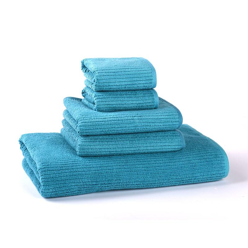 MMY 2016 NEW Towel Set Promotion--1PC 70*140cm Bath Towel+ 2PC Hand Towel +2PC Face Washcloth Bathroom Towels toalha de banho(China (Mainland))