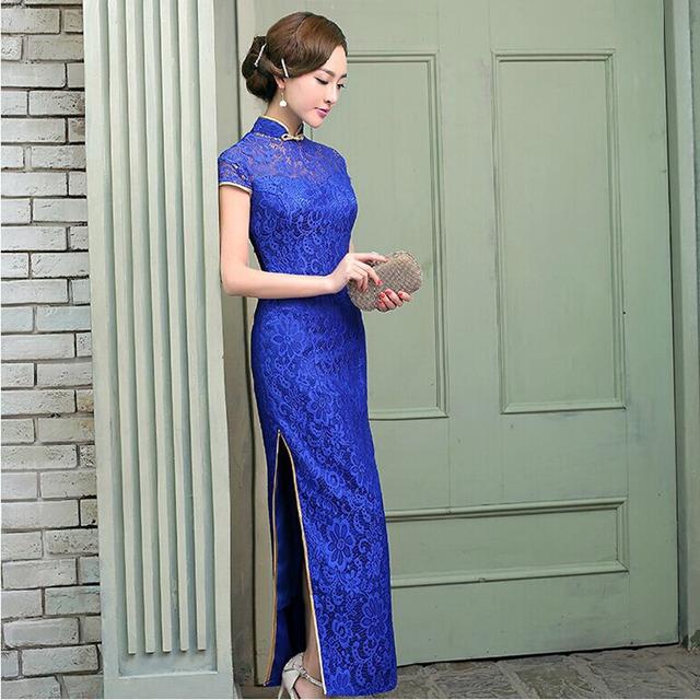 Size 6 long dresses lace