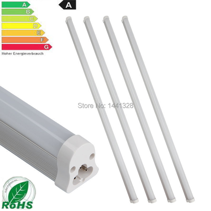 Wholesale 4PCS Set T5 10W LED SMD 3528 Tube Cool White Warm Light 60CM 0.6M AC85-260V As 16W Fluorescent Light Lamp Ultra Bright(China (Mainland))