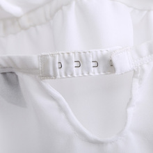 Sling lovely summer song Riel Ms thin models comfortable pajamas white tracksuit suit Sexy hazy FB