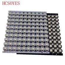 10 ~ 100 stücke WS2812B LED Einzeln adressierbaren WS2811 IC rgb weiß/schwarz 2812b führte kühlkörper (10mm * 3mm) 5050 SMD RGB Eingebaute(China (Mainland))