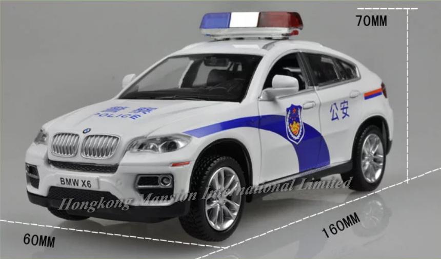 132 Police Car Model For BMW X6 (9)