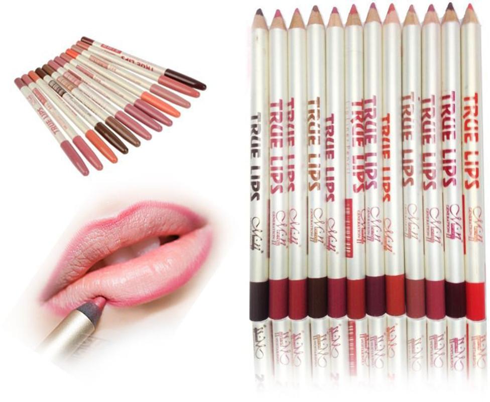 12pcs/set Professional Lip Liner Pencil Waterproof Nature Long Lasting 12 Colors Wooden Lipliner Pen Makeup Cosmetic<br><br>Aliexpress
