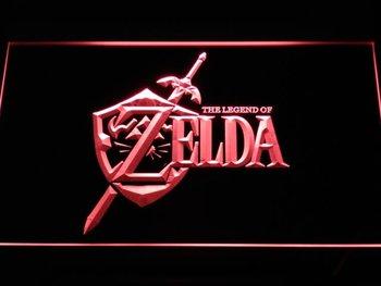 e040-r Legend of Zelda Video Game LED Neon Light Sign
