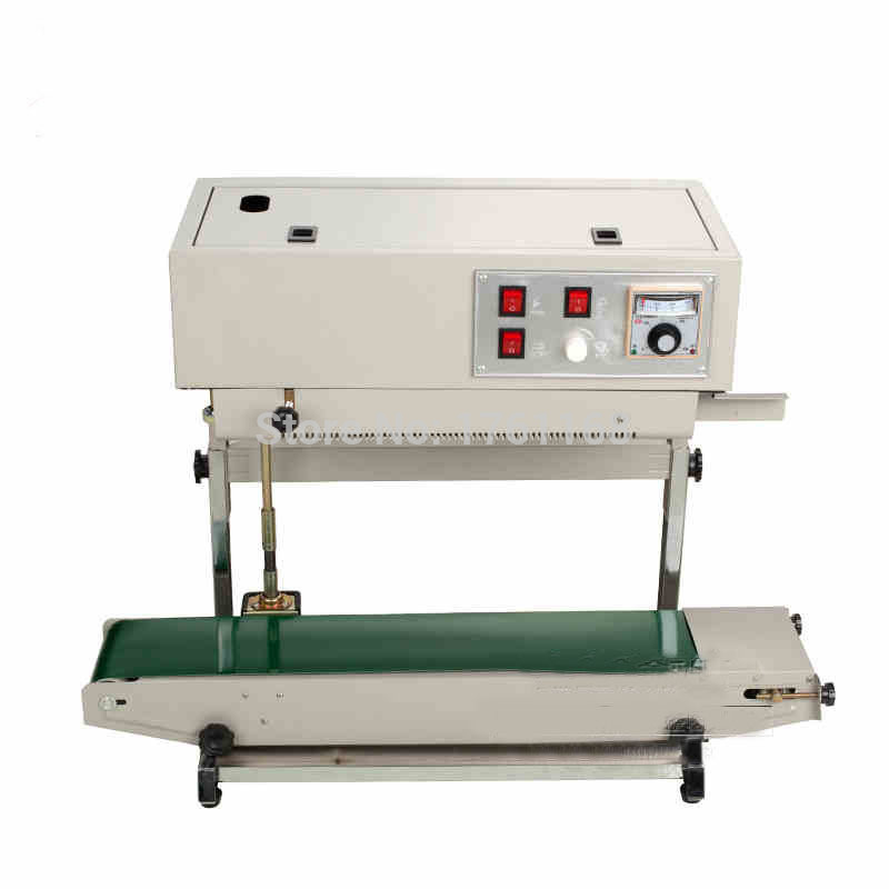 Freeshipping by DHL FR-900v Vertical sealing machine, plastic bag welding machine, vertical sealer for liquid or paste package(China (Mainland))