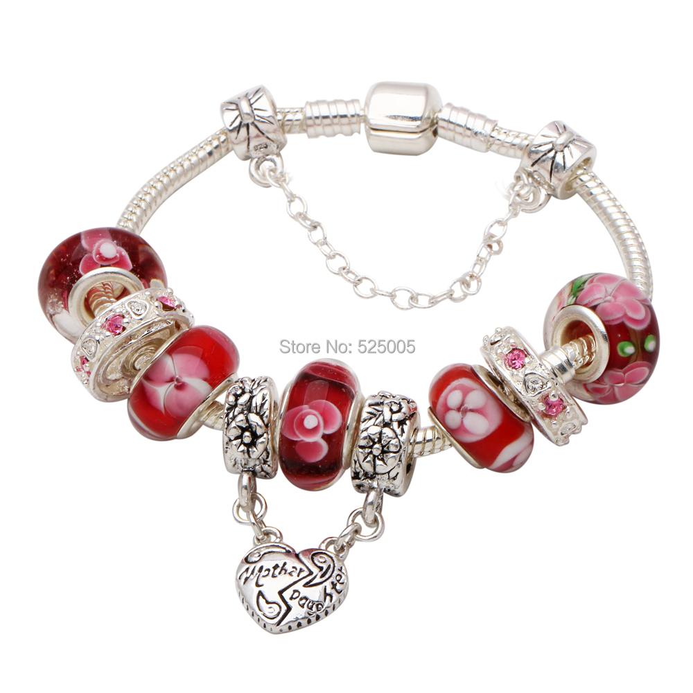 mother daughter bracelet 2015 mothers day gifts red. Black Bedroom Furniture Sets. Home Design Ideas