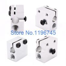 Bloco De Aquecimento de alumínio 20x20x11.5mm Para O Bloco De Aquecimento E3D Volvano Cabeça de Impressão Final Quente alta qualidade(China (Mainland))
