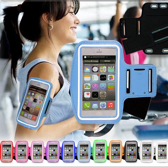 Pen Bicycling Running Sport Arm Band Bags Case For Samsung Galaxy J5 J500 J500F Holder Pounch