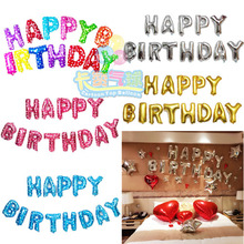 13 unids/pack 18 pulgadas globo de cumpleaños Color de la mezcla de aire bolas de juguete inflable banquete de boda feliz cumpleaños del cabrito clo globos del partido baloon