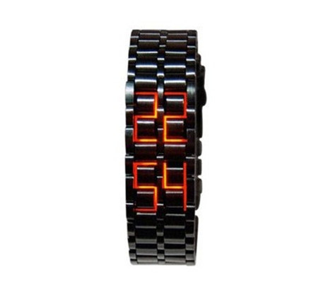 Fashion casual men and women led watches led display digital led watch buy mens led watches online women watches Free Shipping(China (Mainland))