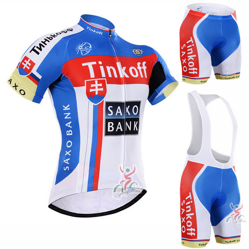 2016 Saxo Bank Tinkoff Cycling Clothing/Cycle Clothes Wear Ropa Ciclismo Cycling Sportswear/Racing Bike Clothes Cycling Jersey(China (Mainland))