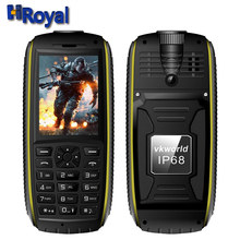 "Original Vkworld Stone V3 max IP68 Waterproof Mobile Cellphone Russian Keyboard 2.4"" Power Bank 5300mAh Long Standby Dual SIM FM(China (Mainland))"