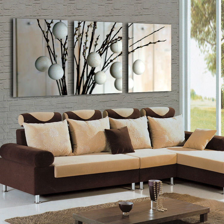 3 Piece Free Shipping Hot Sell Modern Wall Painting Abstract The Fruit Trees Home Decorative Art