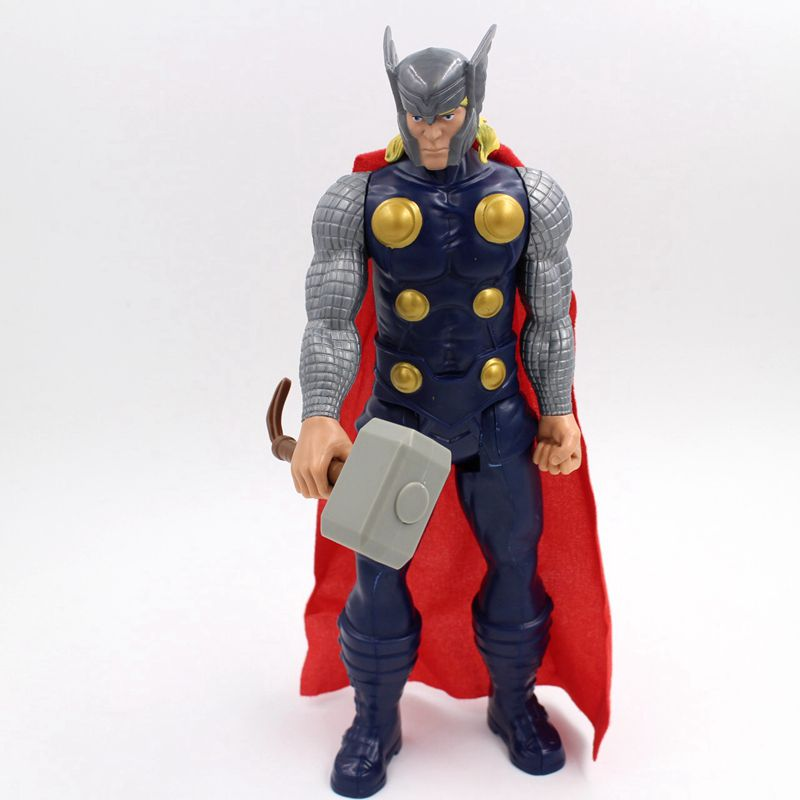 New 30cm The Avengers Superhero Marvel The Thor PVC Joints Doll Action Figure Model Kids Toy for Gifts(China (Mainland))
