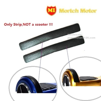 """2pcs Bumper Strip Rubber  6.5"""" hoverboard parts Protection kit Replacement self balancing scooter (free shipping)"""
