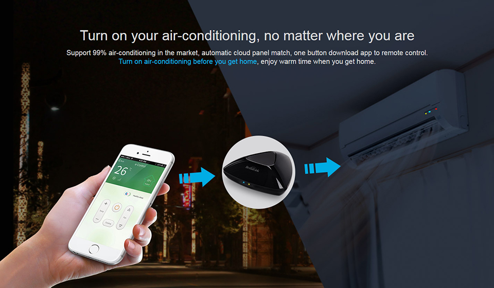 [Upgraded Version] 2017 Newest Broadlink RM Pro Smart Wifi/4G/IR/RF Remote Controller Work With Amazon Alexa For Home Automation