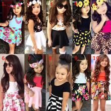 Girls Clothing Sets Baby suits girls t shirt pants 2pcs set kids suits childrens kids clothes