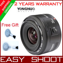 Pre-sale   yongnuo 35mm lens YN35mm  F2 lens  Wide-angle Large Aperture Fixed Auto Focus Lens For  canon(China (Mainland))
