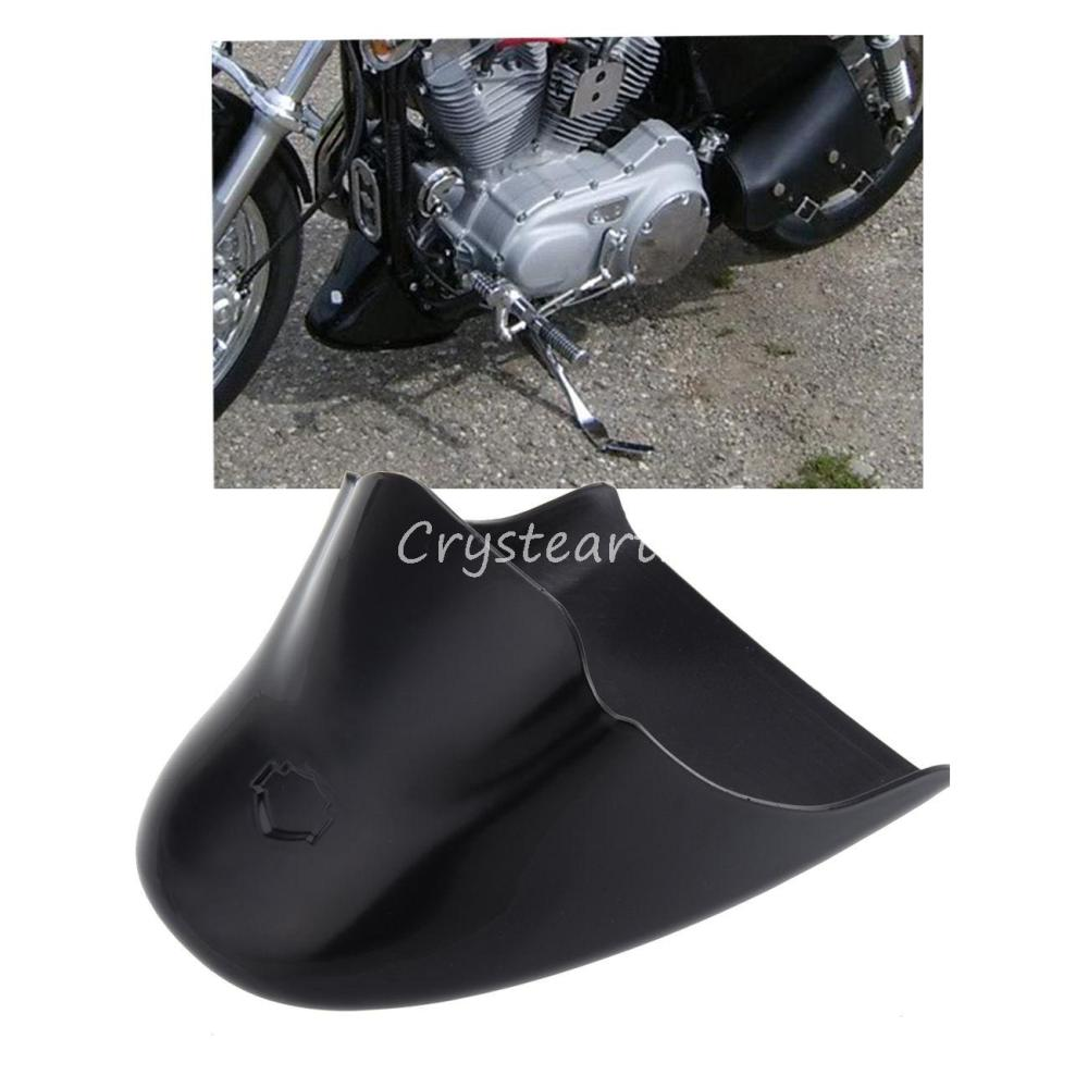 Gloss Black Chin Fairing Front Spoiler For Harley Davidson Sportster 883 XL 1200 2004-2014<br>