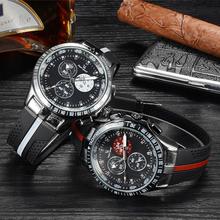 Hombres nuevo reloj superior. 2016 V6 reloj de la marca. alta calidad de gama alta relojes, ocio de los neumáticos estilo relojes, alto nivel de la correa