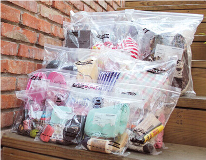 Free Shipping!Top-quality Hot 13pcs/lot Price-Promotion Women's travel EVA transparent storage bag easy live product holder(China (Mainland))