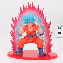 Buy 20cm Dragon Ball Z Super Saiyan God Son Gokou SSGSS Cho Shin Gi Den PVC Action Figure Model Toy Dragon Ball figure for $15.15 in AliExpress store